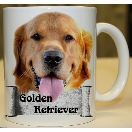Foto hrneček Golden Retriever