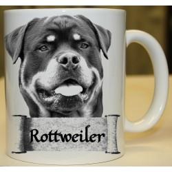 Foto hrneček Rottweiler