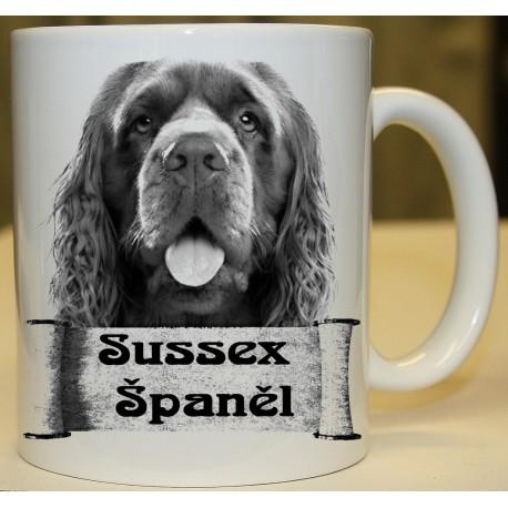 Foto hrneček Sussex Španěl