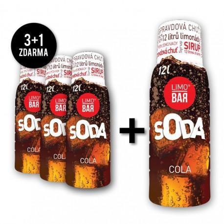 Limo Bar Sirup Cola 0,5l