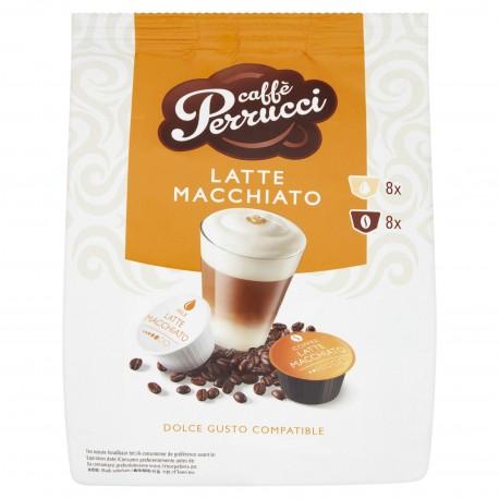 Caffé Perrucci Latte Macchiato do Dolce Gusto 4ks