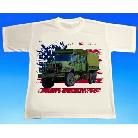 Tričko US army  nákladní auto GMC