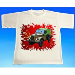 Tričko ruský GAZ 1