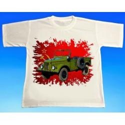 Tričko ruský GAZ 2