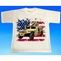 Tričko Hummer US army