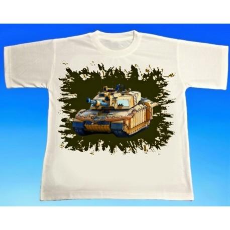 Tričko tank Challenger 2