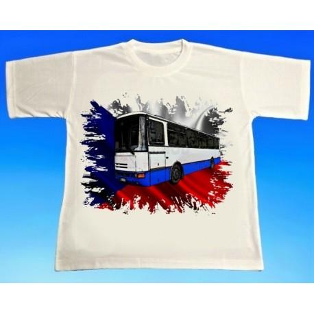 Tričko autobus Karosa