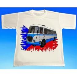 Tričko autobus Škoda RTO