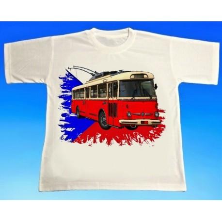 Tričko trolejbus Škoda