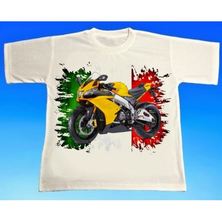 Tričko motocykl Aprilia