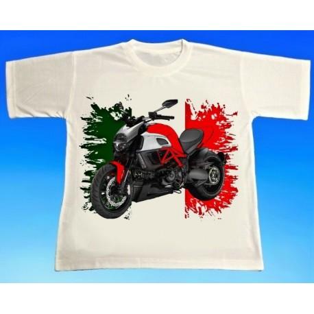 Tričko motocykl Ducati 1