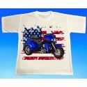 Tričko motocykl Harley 1