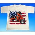 Tričko motocykl Harley 2