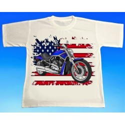 Tričko motocykl Harley 4