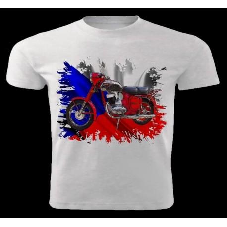 Tričko motocykl Jawa 250-353 1