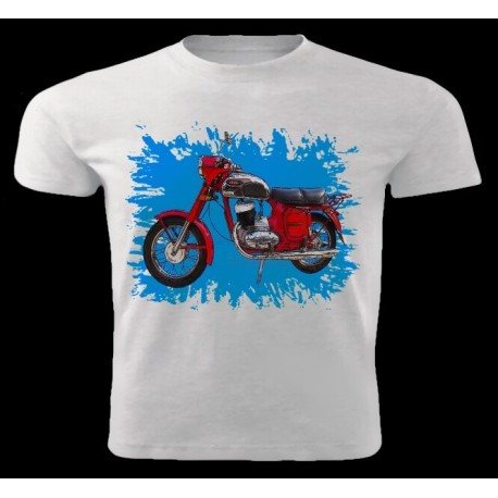Tričko motocykl Jawa 250-353 2