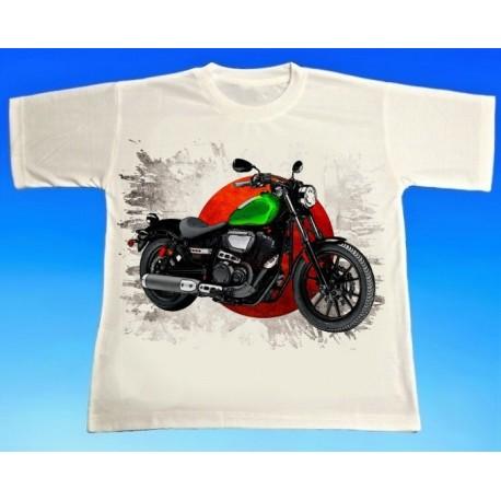 Tričko motocykl Yamaha 2