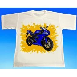 Tričko motocykl Yamaha 4
