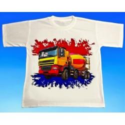 Tričko auto DAF automix