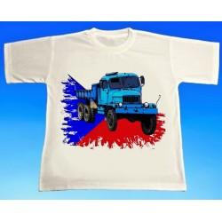 Tričko auto PRAGA V3S