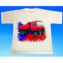 Tričko auto TATRA 815