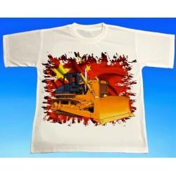 Tričko buldozer Yishan