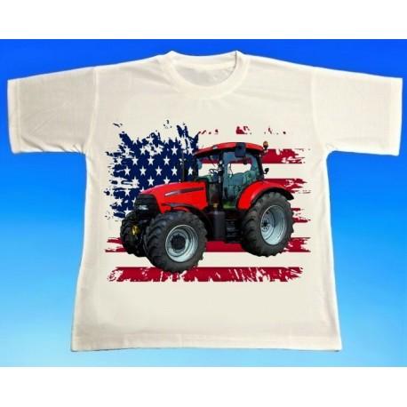 Tričko traktor CASE 140 - 3