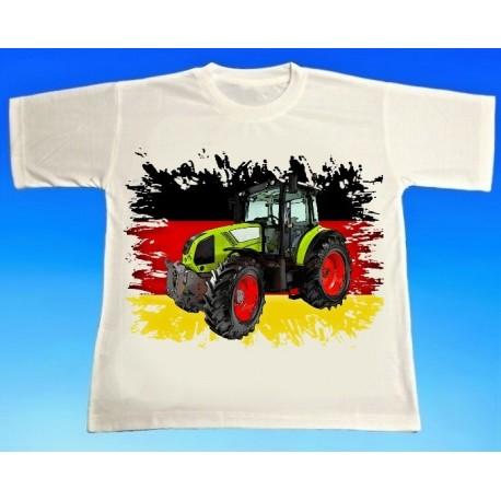 Tričko traktor CLAAS