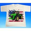 Tričko traktor JOHN DEERE