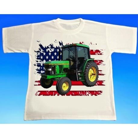 Tričko traktor JOHN DEERE 6400