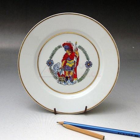 Ozdobný talíř Svatý Florián