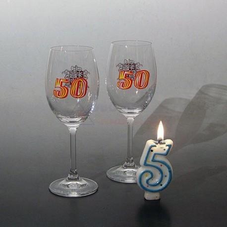 Jubilejní sklenice HASIČI